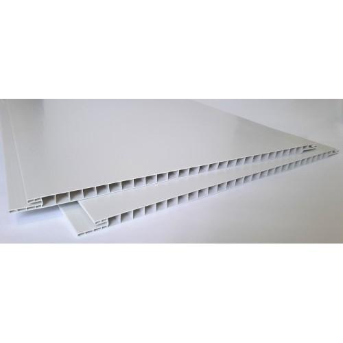 Вагонка 25 см біла